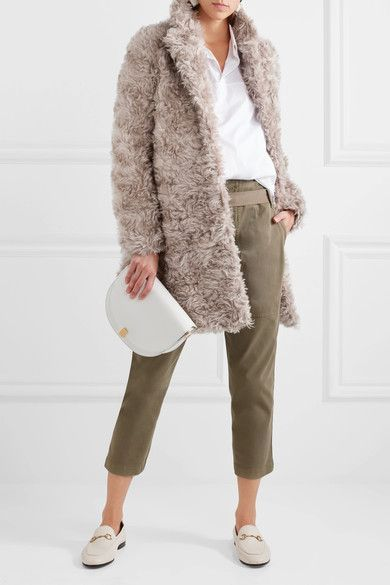 The 25  best Faux shearling coat ideas on Pinterest | Shearling ...