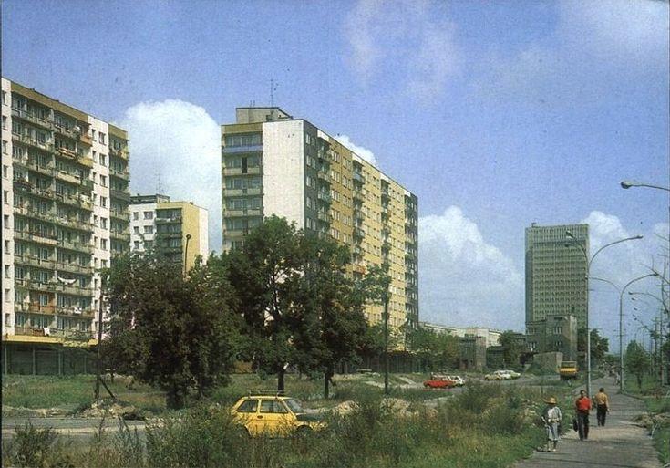 Sosnowiec osiedle Marchlewskiego