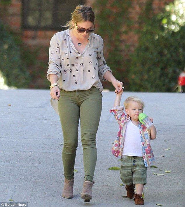 Hillary Duff. She is such a role model