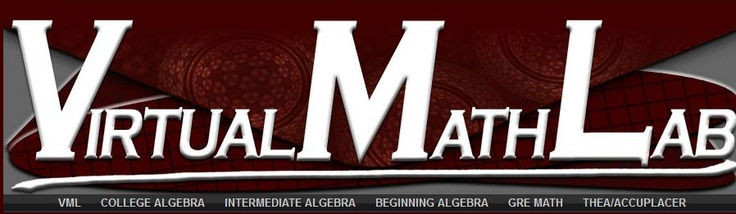 Math Tutorials--college algebra has good pre calc stuff for kids who are absent