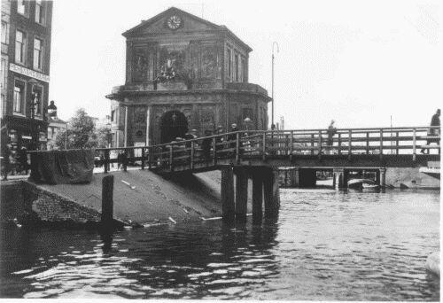 De Delfsche Poort in Noordelijke ricting