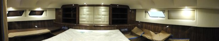 #master #stateroom #yacht #catamaran #50 #veneer #ultrafabrics #ultraleather #uncia