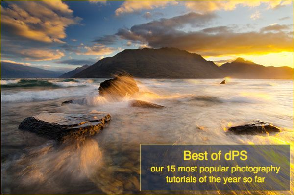 The 15 most popular photography tutorials for the year so far.