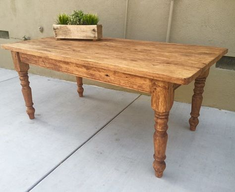 Farm Dining Table Sale by BorboletaDecors on Etsy