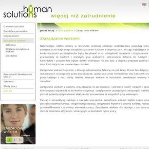 Zarządzanie wiekiem - Human Solutions #zarządzanie_wiekiem