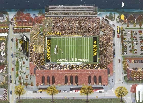 The Big Night Game at Kinnick Stadium, Iowa City