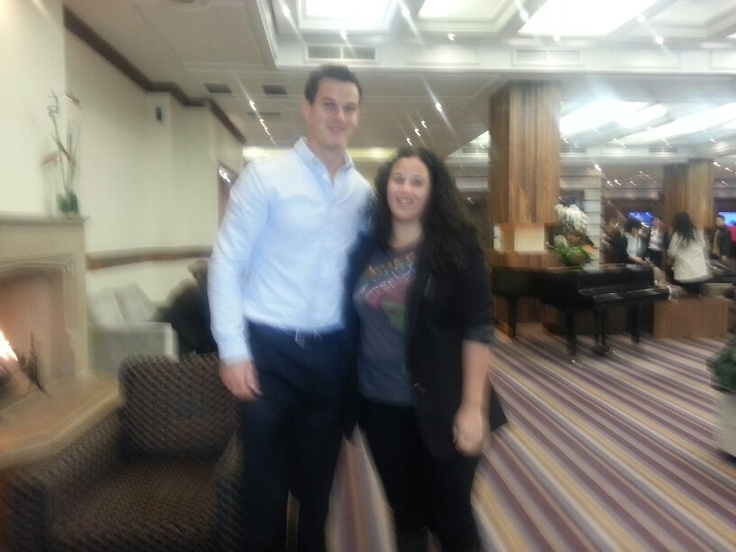 My brief encounter with Johnny Sexton