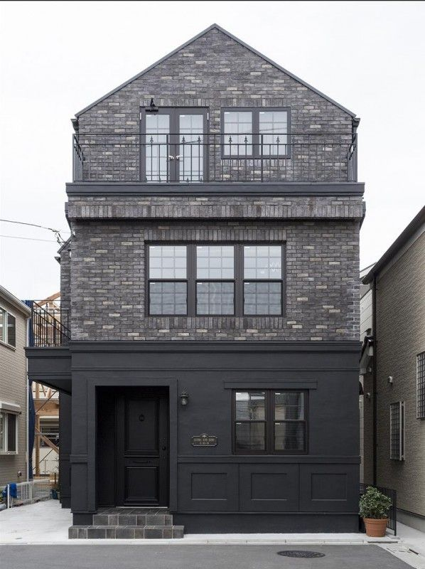 東京 ブルックリンアパートメントをイメージした2世帯輸入デザイン邸宅   アップルヤードデザイン