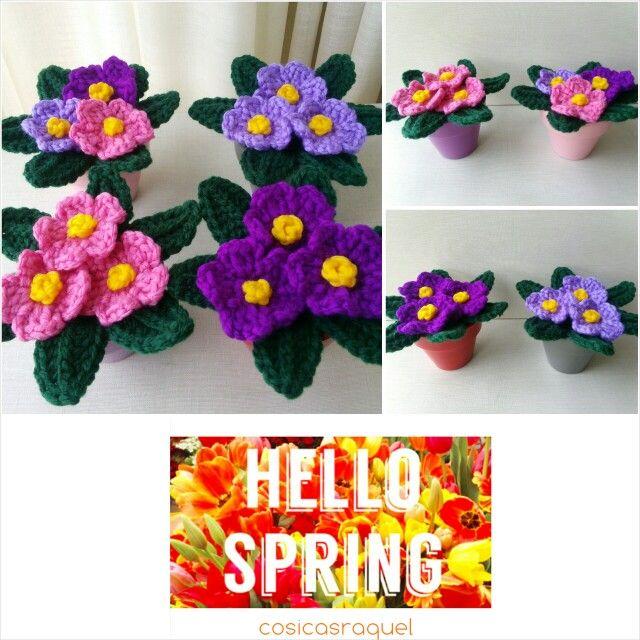 101 best macetas con flores crochet/ cáctus images on pinterest