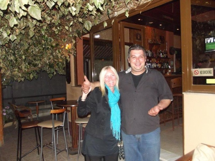 The first draw of the 100+ Club was carried out at Hovoli Kafeneon,Acharavi. Lorraine Whitehall a non member of (The 100+Club) drew out number 17.  The winner was Spyros Vlachos from Hovoli winning 70€ .  A big thank you to the 30 members who have supported The 100+ Club, also a big thank you to Hovoli Acharavi, Mediterranean Corner Mkt Roda, Chippy Chippy Sidari, Darryl Bill Butchers shop Perithia for supporting the Club   The picture is of Lorraine, and Spyros Vlachos.