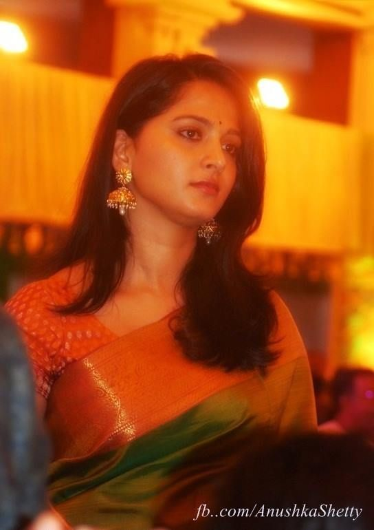 Anushka Shetty at Anirudh Sister Wedding Photos