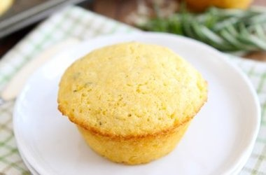 Cheddar Rosemary Corn Muffins Recipes | Food Junkie | Pinterest