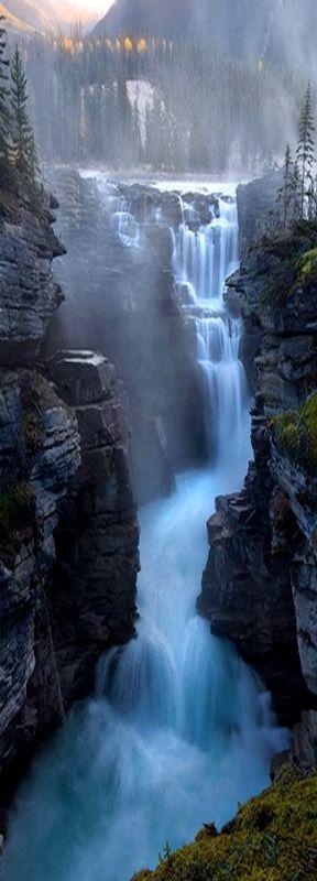 Athabasca Falls,Jasper, Canada