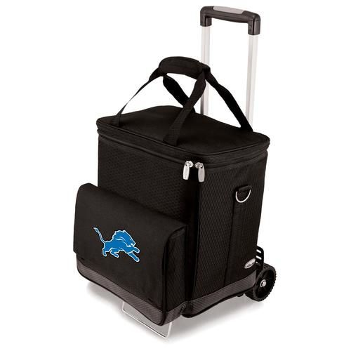 Detroit Lions Wine Cellar Portable Cooler with Trolley
