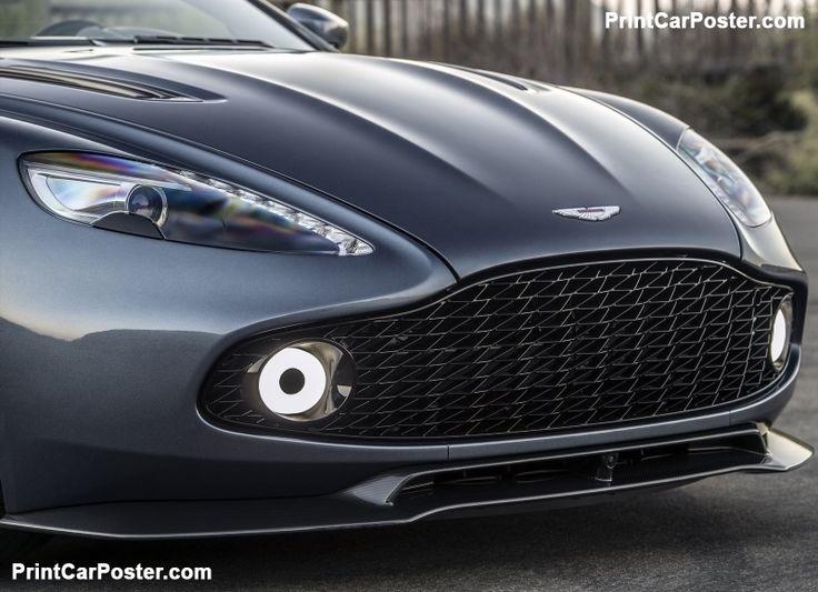 Aston Martin Vanquish Zagato Volante 2017 poster, #poster, #mousepad, #tshirt, #printcarposter