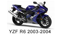 Yamaha YZF R6 2003-2004 Fairing