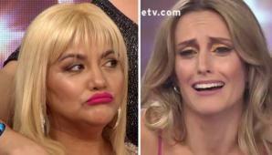 ¡Qué momento! La Bomba Tucumana y Melina Lezcano se dijeron de todo y tuvo que intervenir Marcelo Tinelli para frenar la pelea