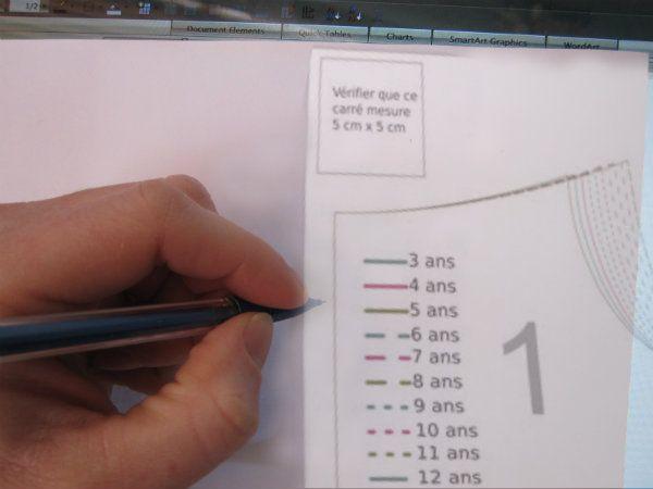 Tracez un patron pdf sans l'imprimer | astuce | Blog de Petit Citron