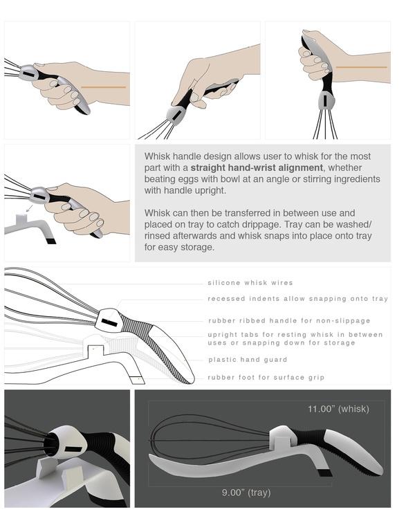 ergonomic whisk