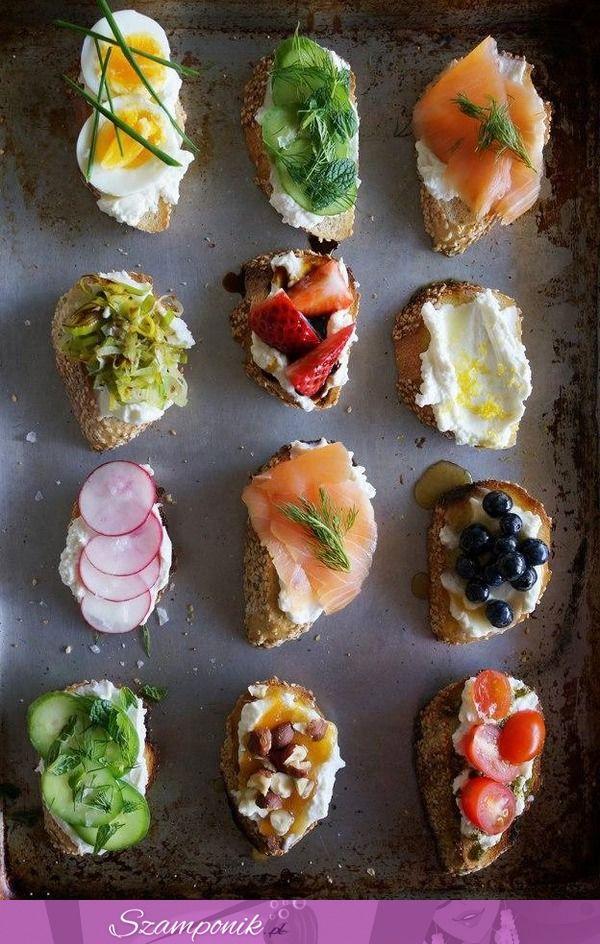 Smaczne i zdrowe kanapeczki na śniadanie