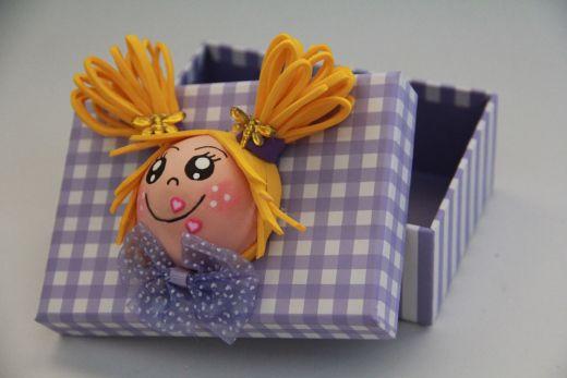Caja personalizada de Goma Eva