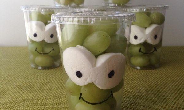 Gezonde traktatie met druiven