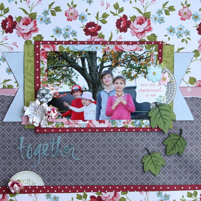 All About Scrapbooks - Kaisercraft Secret Garden by Fiona Johnstone