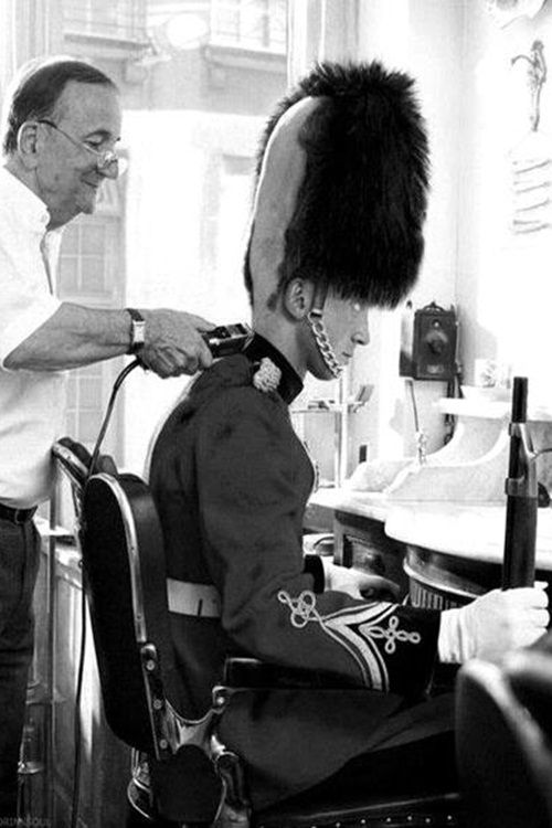 Silly | funny | haircut | Mohawk | guard | UK | solider | quirky | barber…