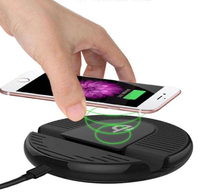 Mobile phone wireless charging, fast charger for iPhone 8, plus, iPhone X, Samsung S6/7/8