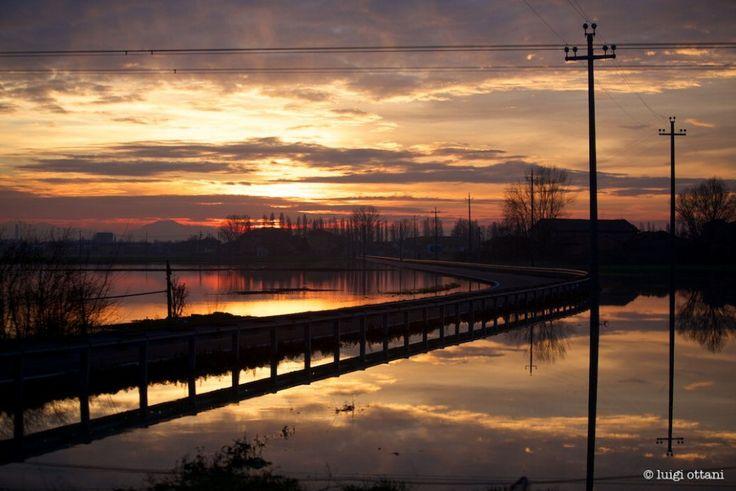 Modena, sguardi sull'alluvione foto ottani