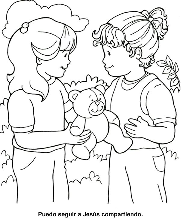 Lots Of Bible Coloring Pages