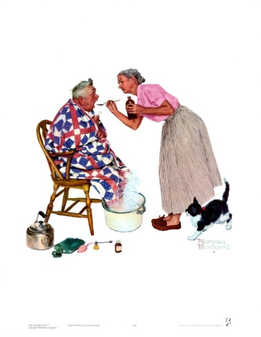 Norman Rockwell-Spring Tonic