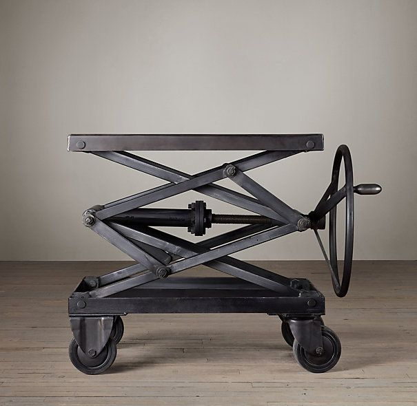 Industrial Scissor Lift Table Iron