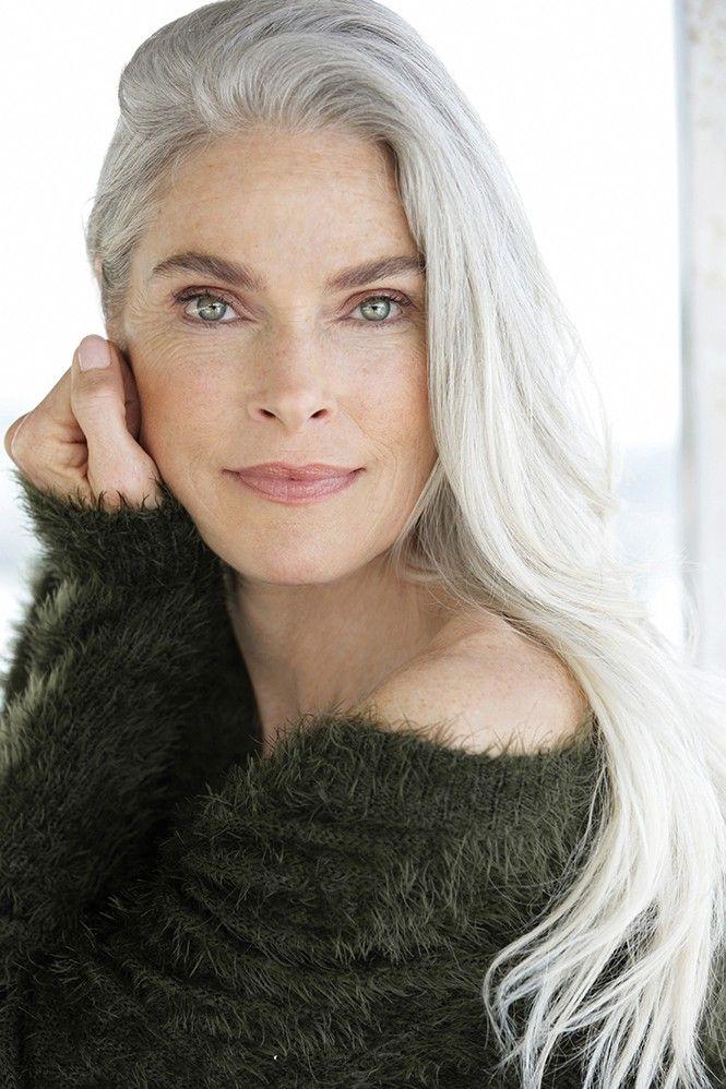 silver agence de top mod les de plus de 40 ans paris gray matter pinterest grey hair. Black Bedroom Furniture Sets. Home Design Ideas
