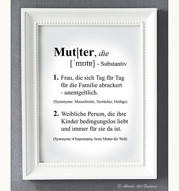 http://de.dawanda.com/product/79355739-Kunstdruck-A4-Mutter-Definition