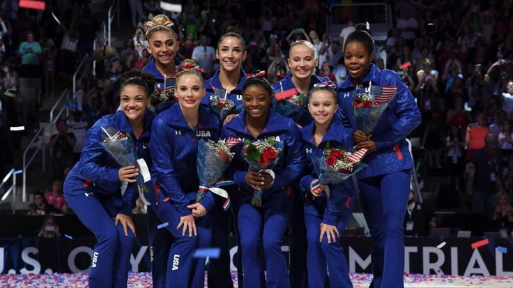 2016 Olympic gymnastics team USA