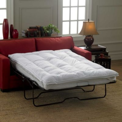 Sleeper Sofa Mattress Topper Huge improvement on your fold out beds!