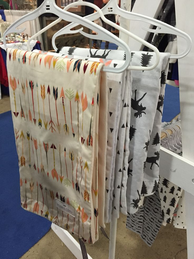 Custome baby blankets by Posh & Cozy