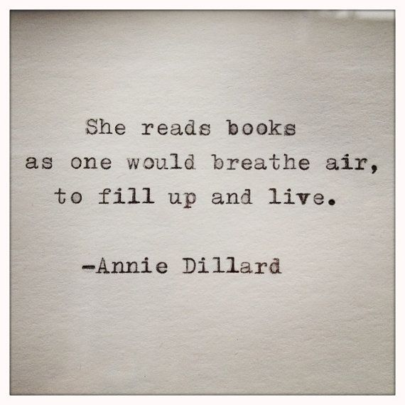 Read - Annie Dillard by whitecellardoor #Quotation #Reading
