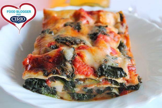 Ricetta Lasagne Tricolore | Cirio