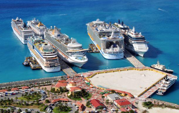 Tourisme : Saint-Martin, élue meilleur terminal croisière de la Caraïbe