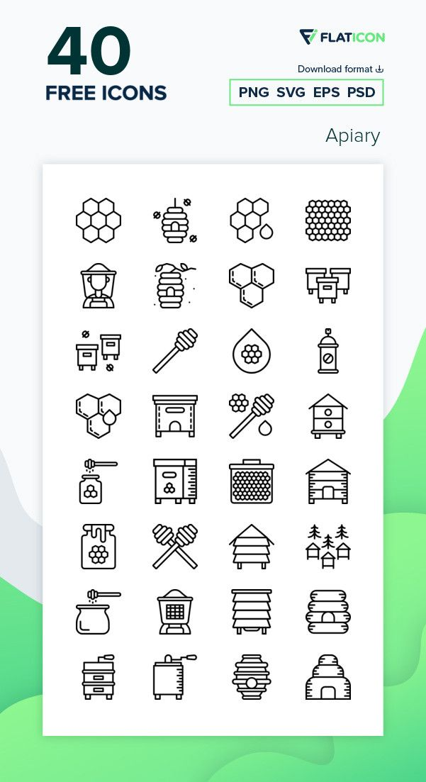 40 Free Vector Icons Of Apiary Designed By Smashicons Apiary Design Vector Free Free Icons Png