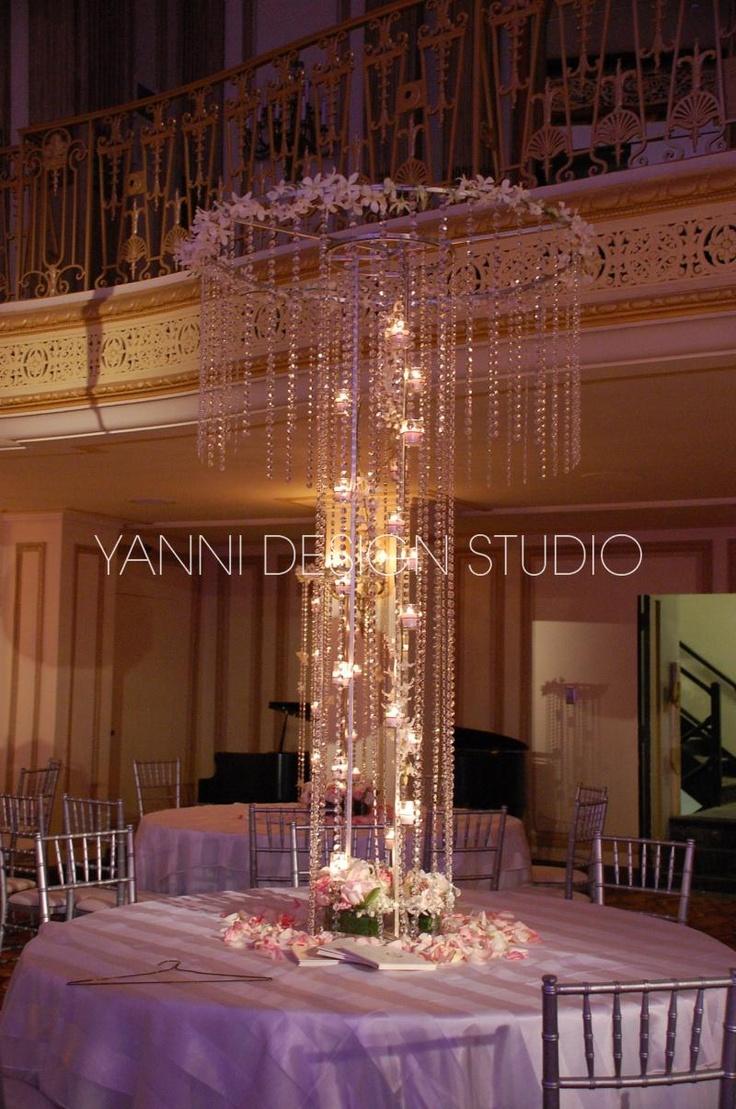 34 best chandelier centerpieces images on pinterest centerpieces wedding flowers and decorations chandelier centerpiececrystal aloadofball Choice Image