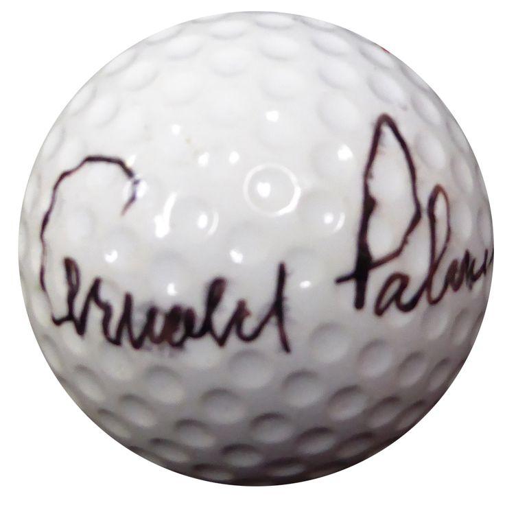 Arnold Palmer Autographed Spalding Top Flite Golf Ball Vintage Signature PSA/DNA