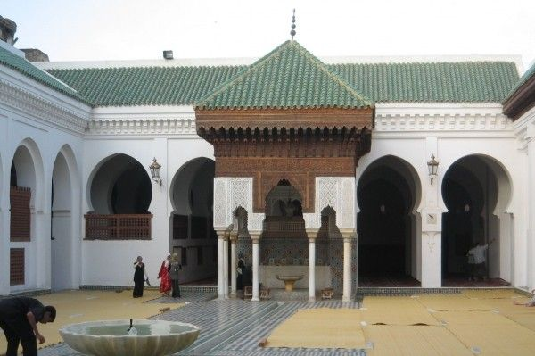 Khizanat al-Qarawiyyin in Fez, the oldest library in the world
