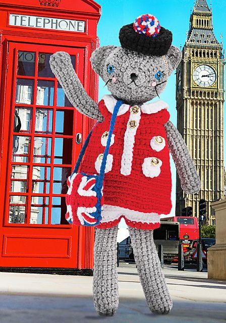 Ravelry: Coco Goes to London pattern by Monica Rodriguez Fuertes