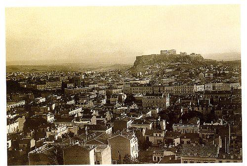 Αθήνα 1917 / Urban landscape of Athens, 1917