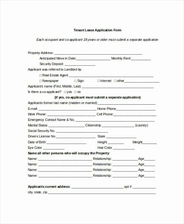 30 Tenant Information Sheet Template In 2020 With Images