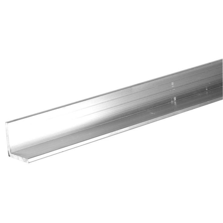 Steelworks 8-ft x 2-in Aluminum Solid Angle
