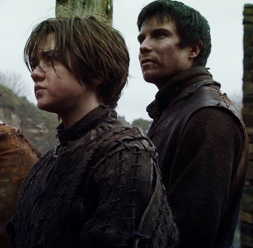 arya and gendry age difference in relationship